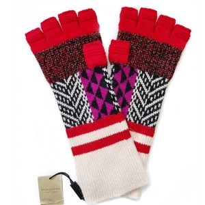 BURBERRY Wool/Cashmere Blend Gloves NWT